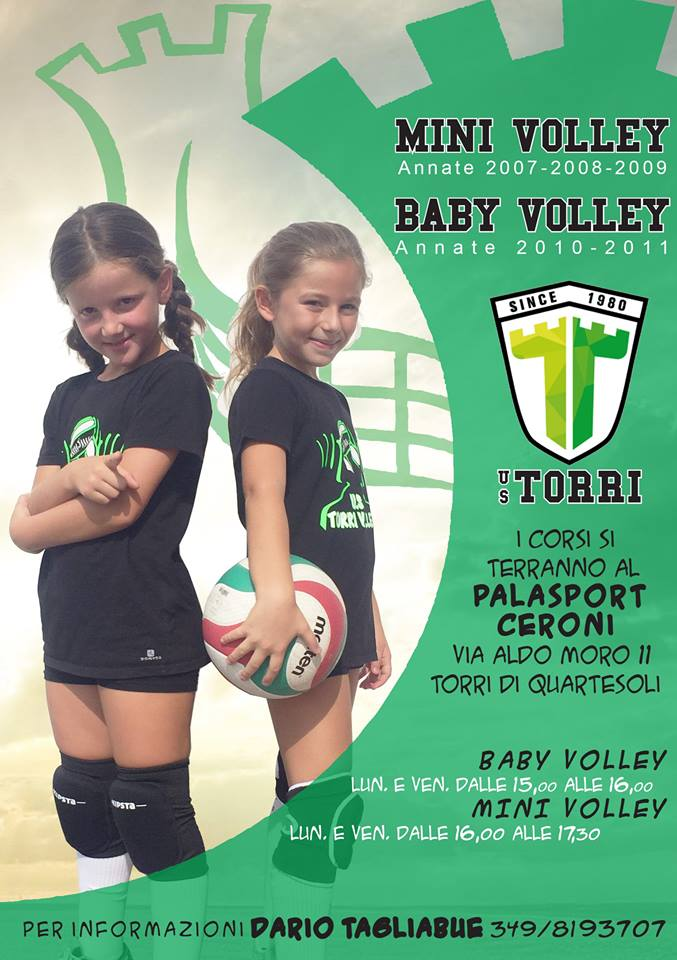 mini e baby volley
